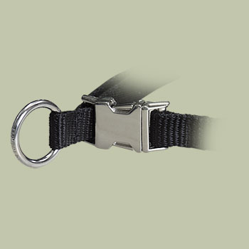 Nylon Quick-Release Training Pinch Collar for RottweilerCollar