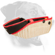 Jute Rottweiler Bite Sleeve with Internal Handles