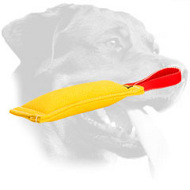 Rottweiler Bite Tug for Developing Bite Skills and Prey Drive