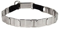 "FUN-19"" STAINLESS STEEL dog collar NECK TECH COLLAR Rottwelier"