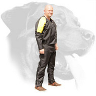 Nylon Scratch Protection Suit for Rottweiler Protection, Bite and Agitation Training