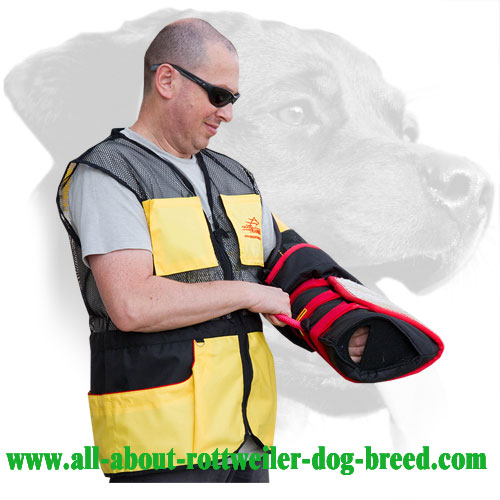 Rottweiler Bite Sleeve Equipped with Replaceable Cover