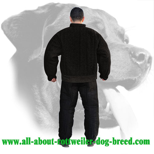 Rottweiler Bite Suit for Protection Training Made of French Linen