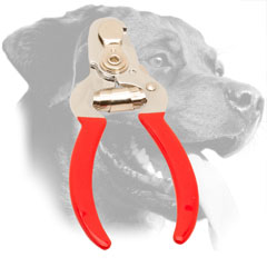 Steel Rottweiler Nail Clipper Equipped with Precision Stopper