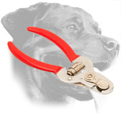 Steel Rottweiler Nail Cutter Equipped with Vinyl Handles