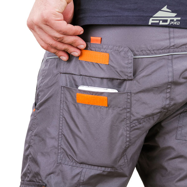 Comfortable Design Pro Pants with Useful Side Pockets for Dog Trainers