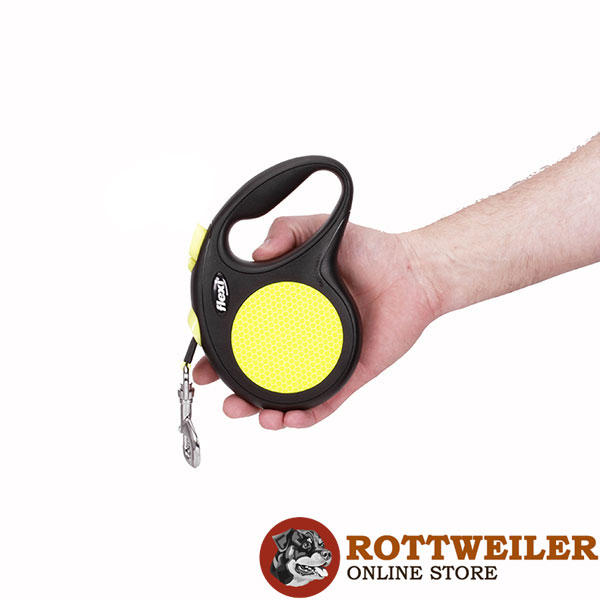 Total Safety Retractable Leash Neon Design for Everyday Walking