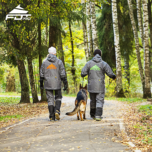 FDT Pro Dog Training Jacket of Quality for All Weather Use