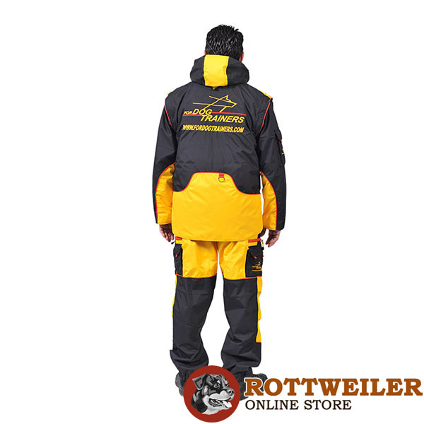 Pro Dog Training Suit of Weatherproof Fabric