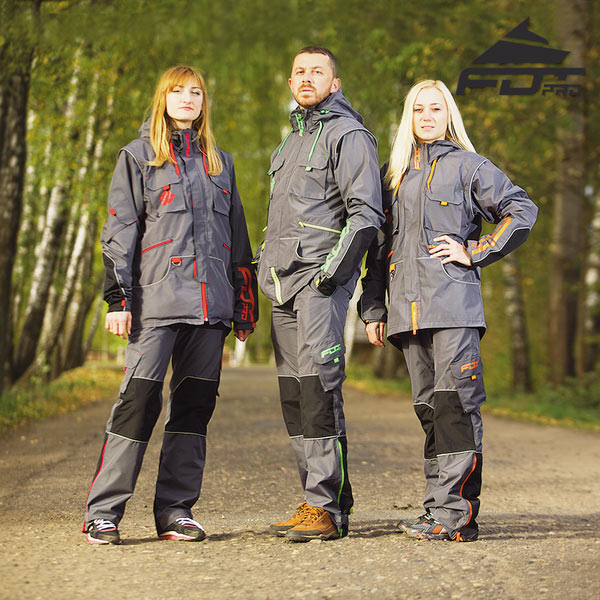 Top Rate Dog Training Suit for All Weather Conditions