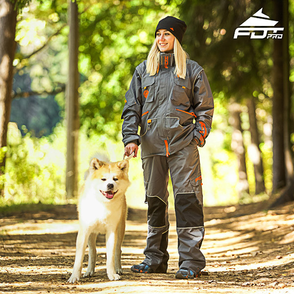 Unisex Design Dog Trainer Jacket of Best Quality Materials
