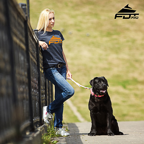 Dog Trainers Women T-shirt of High Quality Cotton