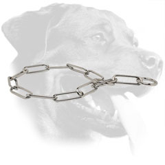 Rottweiler Behavior Correction Collar Made of Steel