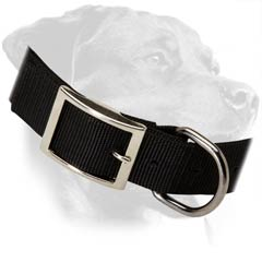 Multipurpose Rottweiler Nylon Dog Collar