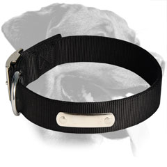 Rottweiler Breed Strong Every Day Nylon Collar