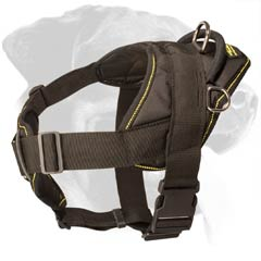 Nylon Dog Harness with Comfortable Chest Plate
