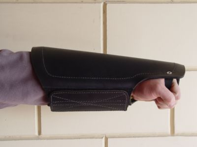 Protection arm cover made of leather for dog trainers -PS11