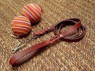 Handcrafted Leather Leash with Herm Sprenger Snap Hook