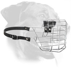 Durable Wire Muzzle for Rottweiler