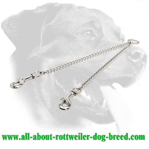 Steel Rottweiler Coupler Equipped with O-Ring